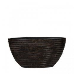 Кашпо Capi Nature Oval Planter Row Rust