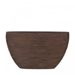 Кашпо Capi Nature Oval Planter Rib Rust