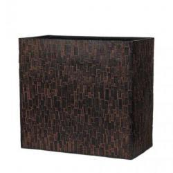 Кашпо Capi Nature Planter Rectangle High Stone Rust