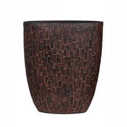 Кашпо Capi Nature Oval Planter Stone Rust